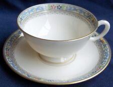 Lenox TRENT 1920's cup & saucer~enameled decoration-NR!