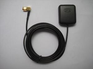 SMA3  Male GPS Sat Nav DVD Aerial Antenna 3M Cable 1575.42MHz For Navman Rikalin