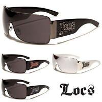 Locs Mens or Womens Fashion Shield Trendy Stylish Sunglasses - lc129