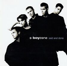 BOYZONE : SAID AND DONE / CD (POLYDOR 527801.2) - NEUWERTIG
