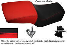 RED & BLACK CUSTOM 91-98 FITS DUCATI SUPERSPORT 900 SS LEATHER SEAT COVER