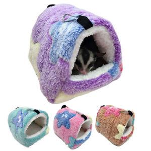 Hammock Nest Ferret Rabbit Guinea Pig Rat Hamster Mice Bed Warmer House Cave Bed