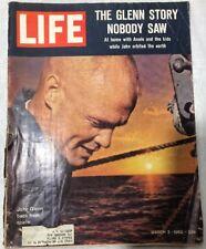 Vintage March 2 1962 LIFE Magazine JOHN GLENN Orbit Space NASA