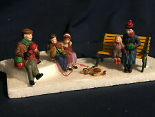 """Dept. 56 - """"Christmas At The Park"""" & """"Wrought Iron Park Bench"""""""