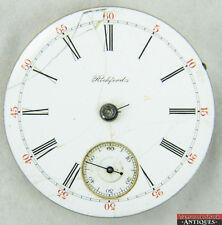 1894 Rockford 18s 17J Roman # Pocket Watch DMSK Movement For Parts Repair 15150