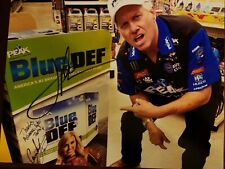 Autograph Picture NHRA John Force funny Looking