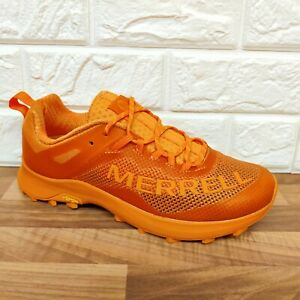 Merrell Men's Size 8.5 UK MTL Long Sky Flame Orange Trail Running Shoes Trainers