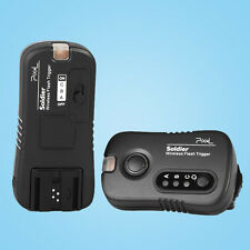 Pixel TF-373 Wireless Flash Trigger Remote Control transmitter receiver For Sony
