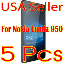 5x New Nokia Lumia 950 Screen Protector Film High Definition (HD) Clear  (USA)