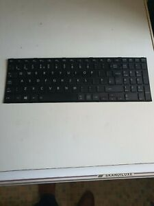 Genuine Toshiba Satellite Pro R50-B Series UK Keyboard MP-14A76GB-356 TESTED
