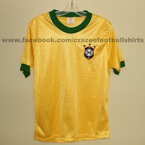 """vintage BRAZIL Brasil 1979-80 home football shirt Umbro M 38/40"""" soccer jersey"""