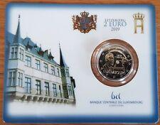 2 euro Luxemburg 2019 Wahlrecht Stemrecht Suffrage coincard BU #V14