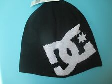 NEW DC SHOES SKATE BEANIE Cap HAT BOYS CHILDRENS OSFA S M L Black White NWT