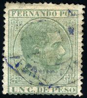 FERNANDO POO 5 USADO  ALFONSO XII