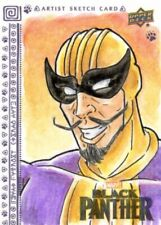 Upper Deck Marvel Black Panther Sketch Card by Emma Burges