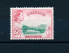 SWAZILAND 1961 DEFINITIVES SG86 25c  MNH