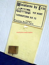 Miniatures By Eric~HO~F2~GP38-2 Top Mount Tapered Filter Box Detail Kit~Brass~