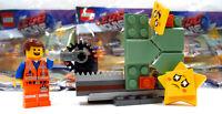 Lego Movie 2 Emmet Minifigure Set #30620, Exclusive Star Stuck (Struck) Minifig