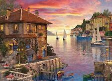 Eurographics Puzzle 1000 Piece Jigsaw - Mediterranean Harbour EG60000962