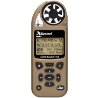 Kestrel 5700 Elite Meter w Applied Ballistics & Bluetooth LiNK - Desert Tan