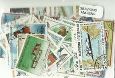 "Lot timbres thematique "" Avions anciens """