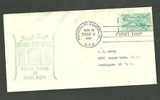 1949 Cover First Trip Highway Post Office Pikeville K.Y. and Bristol V.A.