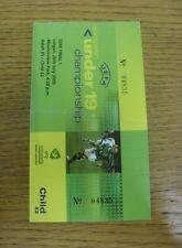 26/07/2005 Ticket: UEFA U19 European Championship Semi-Final, Serbia and Montene