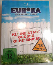 EUREKA: THE COMPLETE SERIES Brand New BLU-RAY Set Seasons 1-5 Syfy GERMAN IMPORT