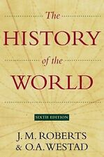 The History of the World Sixth Edition by J.M. Roberts...NEW Hardcover