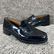 Bostonian Lakewood Penny Loafers Dress Shoes Slip On Mens Size 7.5 Medium Black