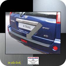 Exklusiv RGM Ladekantenschutz Alu-Look für Nissan X-Trail I T30 SUV 12.03-05.07