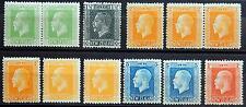 New Zealand ex. Kat. 136-161 MH * KGV 1915/21 Kat. 110 Euro