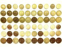complete coin set FREE SHIPPING 1 groszy 2 grosze 5 groszy 2001-2010