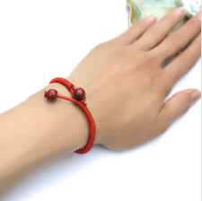 Fashion Unisex Lucky Charm Bracelets Bead Red String Ceramic Evil Eye Protection