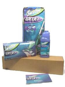 Swiffer WetJet Powered Floor Cleaning Kit Green Model M2001
