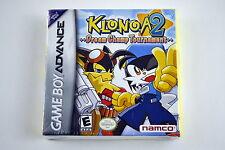 Klonoa 2: Dream Champ Tournament Nintendo Game Boy Advance Brand New & Sealed!
