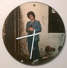 "Billy Joel 52nd Street Album Clock 11.5"" round battery operated"