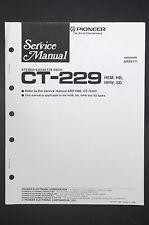 PIONEER CT-229 Original Service-Manual/Anleitung/Schaltplan! o13