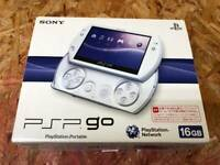 IN HAND Sony PSP Go PlayStation Portable Go Pearl White JP PSP-N1000PW FAST SHIP