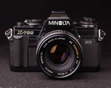Minolta X-700 Manual Film Camera with Rokkor 50mm f/1.7 Lens