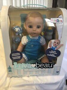 LUVABELLA LUVA BEAU INTERACTIVE RESPONSIVE BABY BOY DOLL New