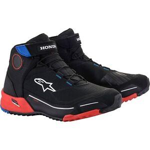 Alpinestars Cr-X Drystar Honda Motorcycle Shoes Waterproof Trainers Summer