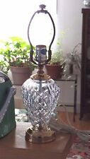 Waterford Crystal KILKENNY Accent Lamp Signed with Original Label