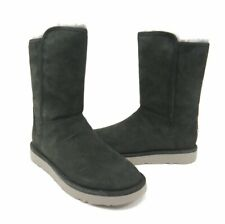 NEW $250 Ugg Italian Luxe Collection Abree Gray Short Shearling Boots  Select Sz