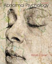 Abnormal Psychology by Ronald J. Comer (2015, Hardcover, Revised)