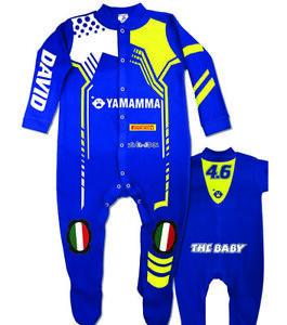 VR Baby Biker Race Sleep Suit