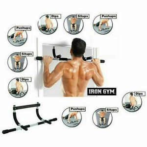 Iron Gym Barra multifunzione trazioni addominali sbarra fitness sport ginnastica