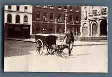 Belgique, Namur, Attelage au chien  Vintage citrate  print.  Tirage citrate