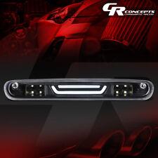 3D LED BAR 3RD TAIL BRAKE LIGHT W/CARGO LAMP BLACK FOR 07-13 SILVERADO/SIERRA