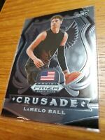 LAMELO BALL PRIZM ROOKIE CRUSADE CARD JERSEY #1 HORNETS RC  2020 Panini Prizm📈